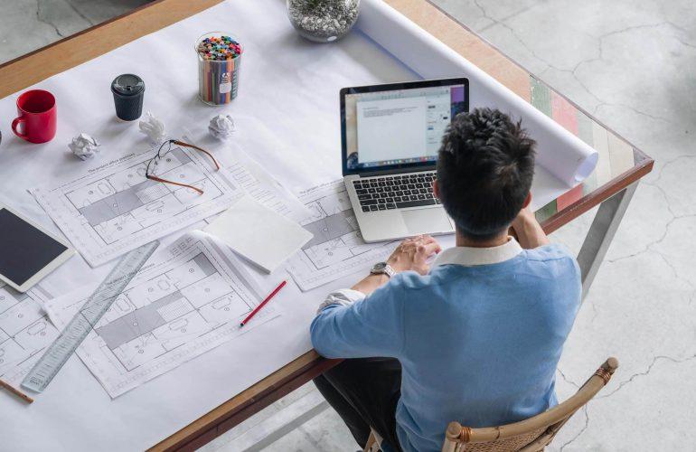 معماری دفتر رونت رایلی و معماری دیکسون + طراحی